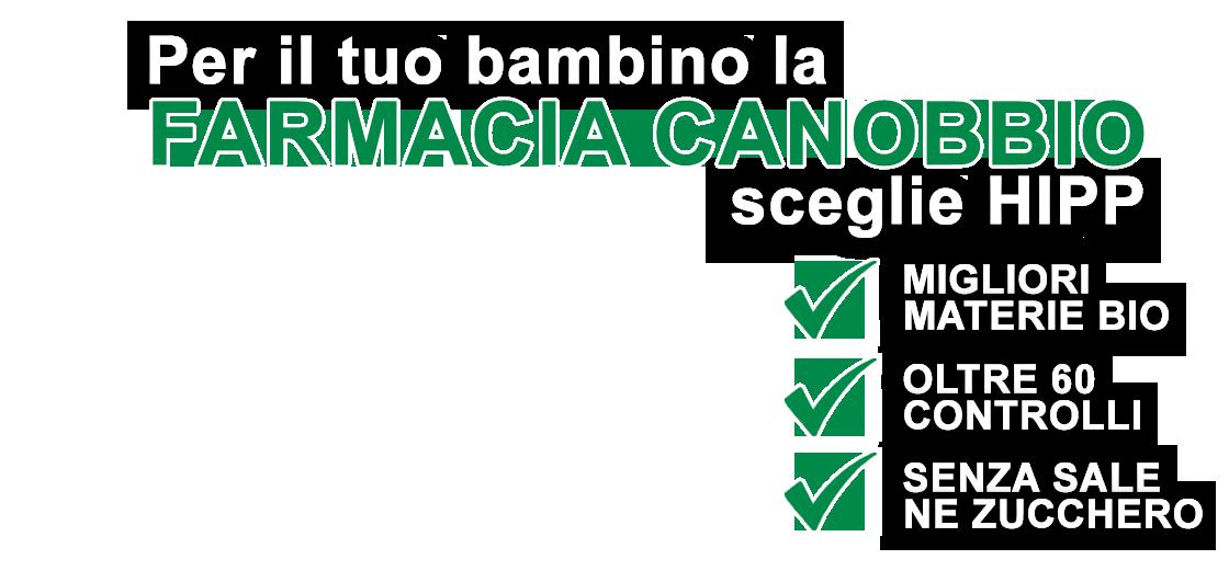 Farmacia Galenic Canobbio Genova per l'infanzia - HIPP