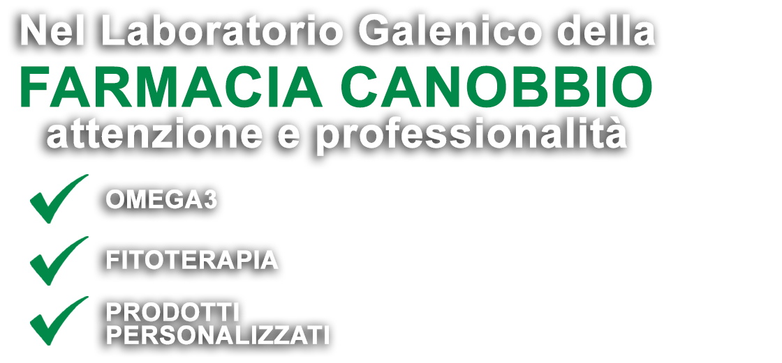Farmacia Galenica Canobbio Genova Laboratorio