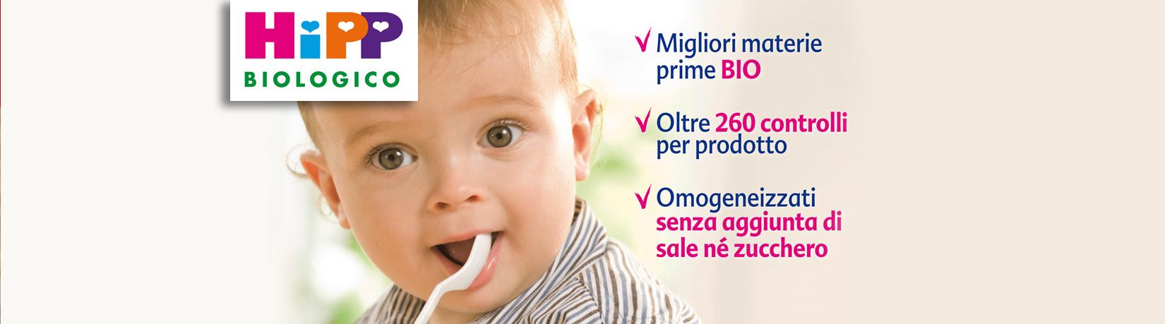 Farmacia Canobbio - Prodotti dell'HIpp: materie prime bio, 260controlli e omogeneizzati senza zucchero