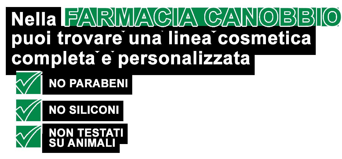 Farmacia Galenica Canobbio Genova per la dermocosmesi
