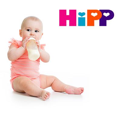 Prodotti per l'infanzia dell'HIPP alla Farmacia Canobbio
