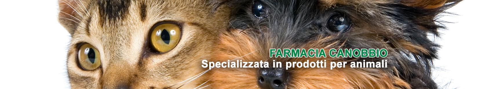 La Farmacia Canobbio è specializzata in prodotti per animali